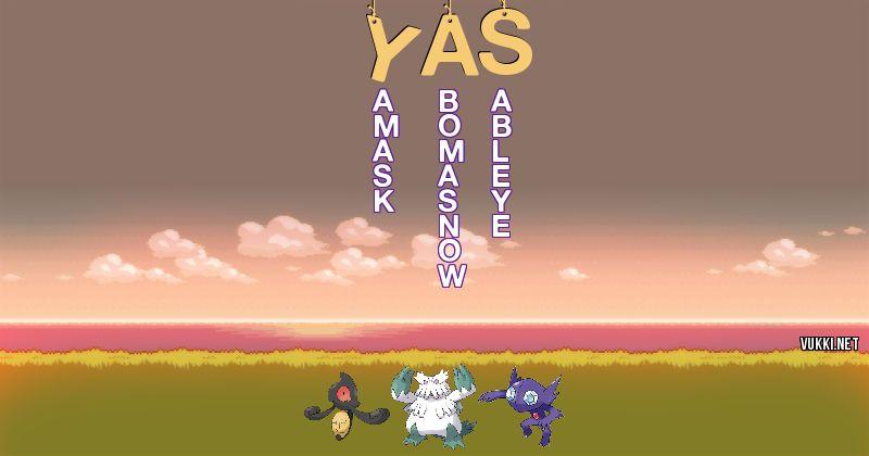 Pokemon Yas