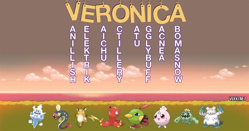 Los Pokémon de veronica - Descubre cuales son los Pokémon de tu nombre