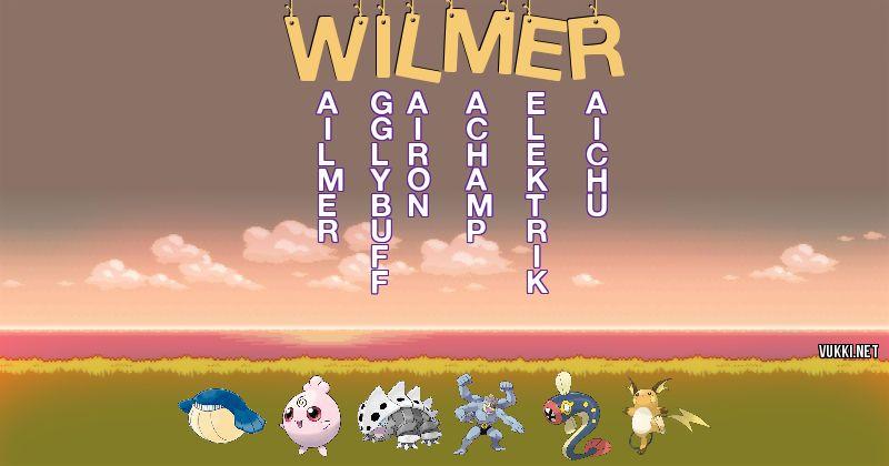 Los Pokémon de wilmer - Descubre cuales son los Pokémon de tu nombre