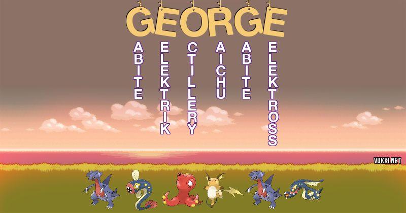 Los Pokémon de san juan de gastelugatze - Descubre cuales son los Pokémon de tu nombre