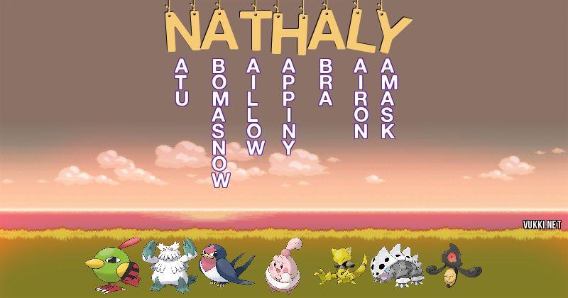 Los Pokémon de nathaly - Descubre cuales son los Pokémon de tu nombre