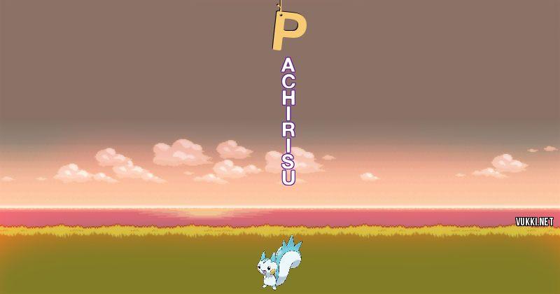 Los Pokémon de p - Descubre cuales son los Pokémon de tu nombre